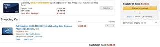 View Amazon cart