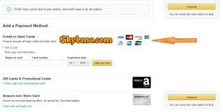 Amazon Payment Method