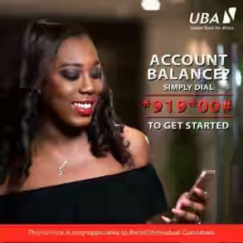 Code to Check UBA Account Balance
