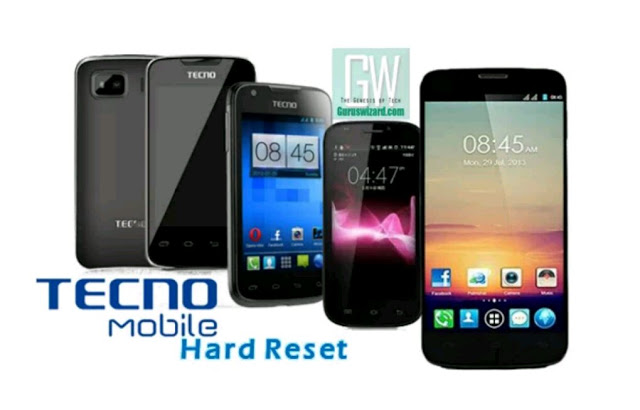 How To Format Or Hard Reset All Tecno Android Smartphones With