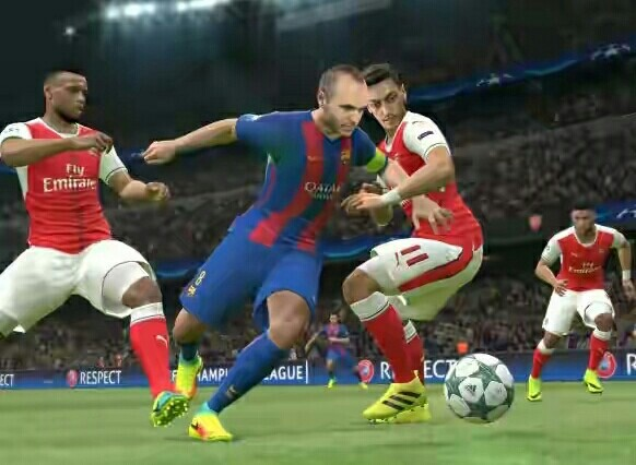 PES 2017 for pc device