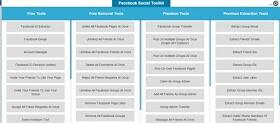 Facebook Social Media Toolkit Features