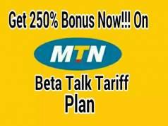 MTN BetaTalk tariff plan migration codes