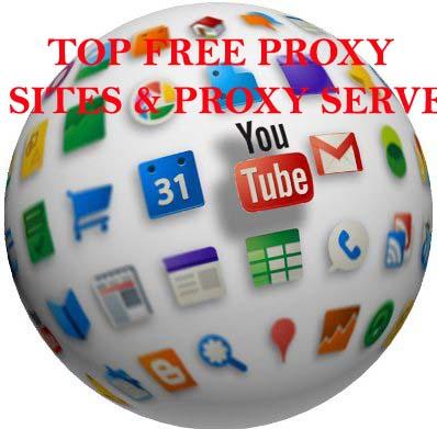 Free Proxy Sites Servers
