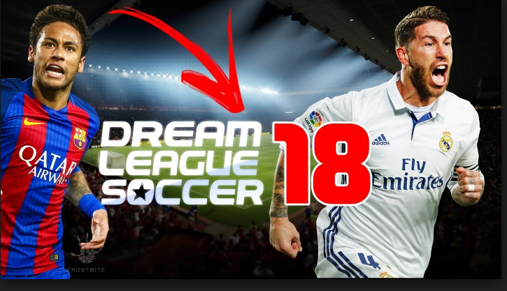 Download Dream League Soccer 2018 (DLS 18) APK + Mod + Obb Data File