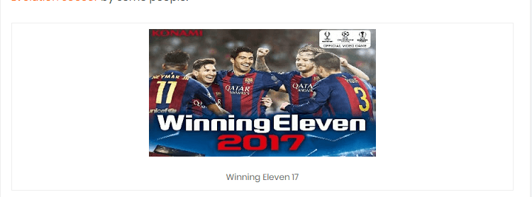 Download & Install Winning Eleven 2012 Mod WE 2016, 2017