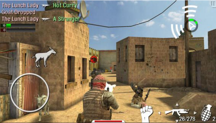 SHOOTING MULTI-PLAYER GAMES