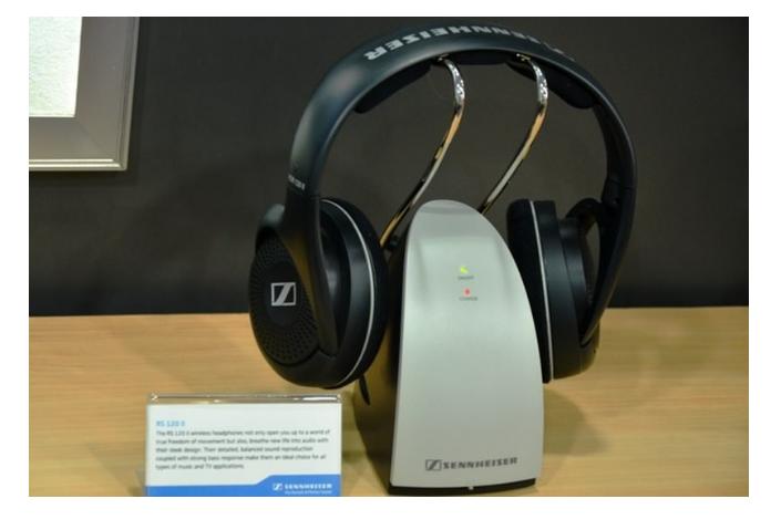 Sennheise RS120 headphones