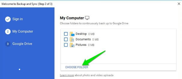 multiple google drive accounts on one computer