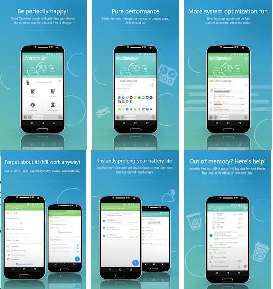 Droid Optimizer apk download - boost mobile phone