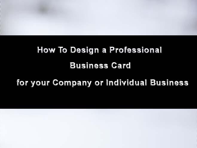 design-business-card