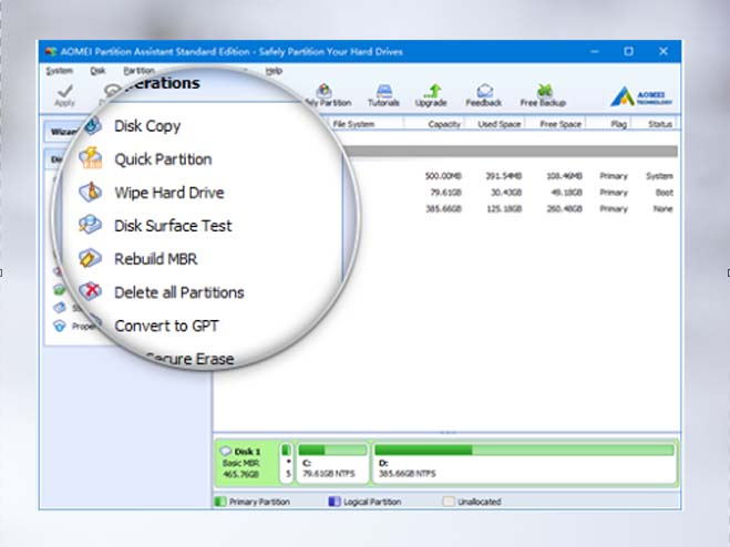 free Disk partition software