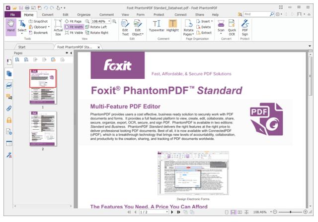 Foxit-PhantomPDF-Editor