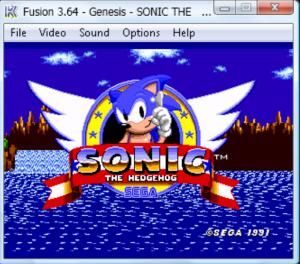 Kega Fusion Sega Genesis game Emulators