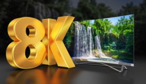 8K video stream
