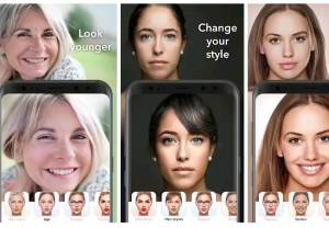 make your face old with faceApp