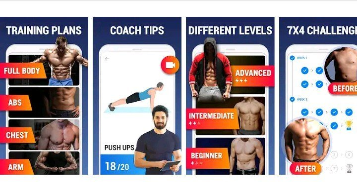 Home-workouts-Fitness-android-App