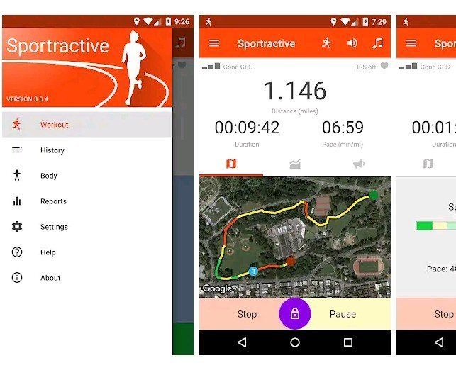 Sportractive-GPS-Running-Cycling-Distance-Tracker-app