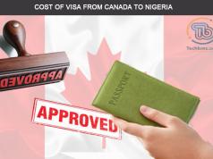 Cost of canada visa