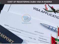 Dubai Visa fees in Nigeria