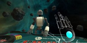 Microgaming virtual reality