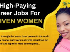 top paying career jobs for women Techbmc