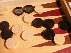 Backgammon gaming